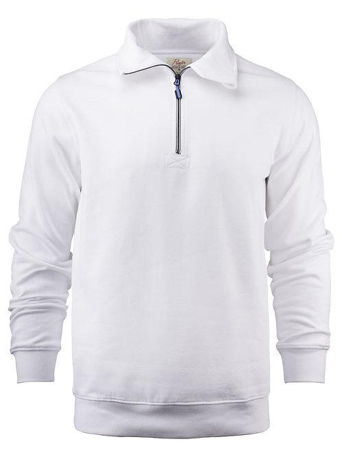 Sweat-shirt col demi-zip