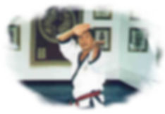 Grandmaster C. S. Kim/ Tang Soo Do.