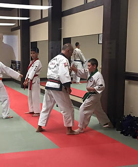 C. S. Kim Karate teaches, Confidence, Self Esteem, Self Defense, and Self Awareness.