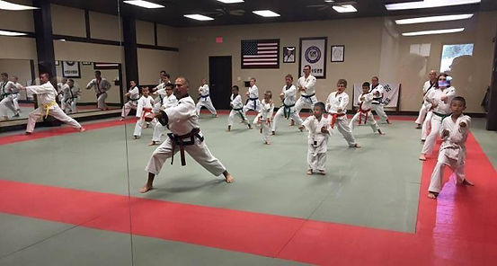 Getting fit with Martial Arts at C. S. Kim Karate.