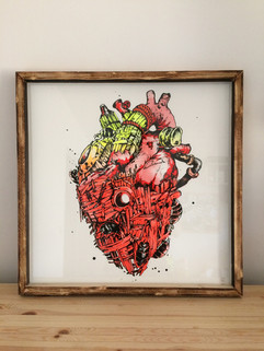 Palette Heart