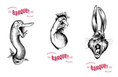 Artwork for Microbrasserie La Barque brewery.