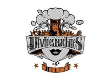 Artwork for the Nantes based Roller Derby Team logo, les Divines Machines.