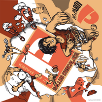 2018 Promo flyer design for the Pic & Paroi rock climnbing gym.  www.picetparoi.fr