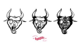 Illustration pour l'étiquette de la Bos bellicus.