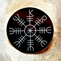 Whitby Krampus Run Rune Sticker