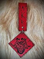 Whitby Krampus Run Leather Belt Adornment