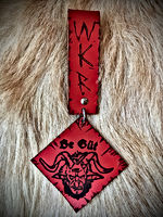Whitby Krampus Run Leather Belt Adornment