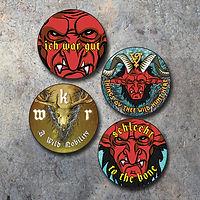 Whitby Krampus Run Badge Set