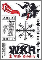 Whitby Krampus Run Tattoos