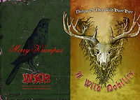 Whitby Krampus Run Grusskarten 1