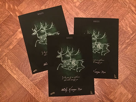Whitby Krampus Run Ltd Edition Print