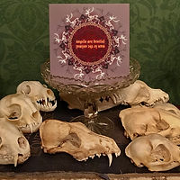 Whitby Krampus Run VI Greetings card