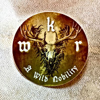 Whitby Krampus Run Wild Sticker