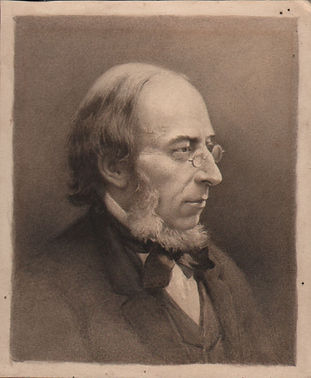 Pen and wash portrait of george stacey g