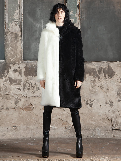 Ninja Faux Fur Coat