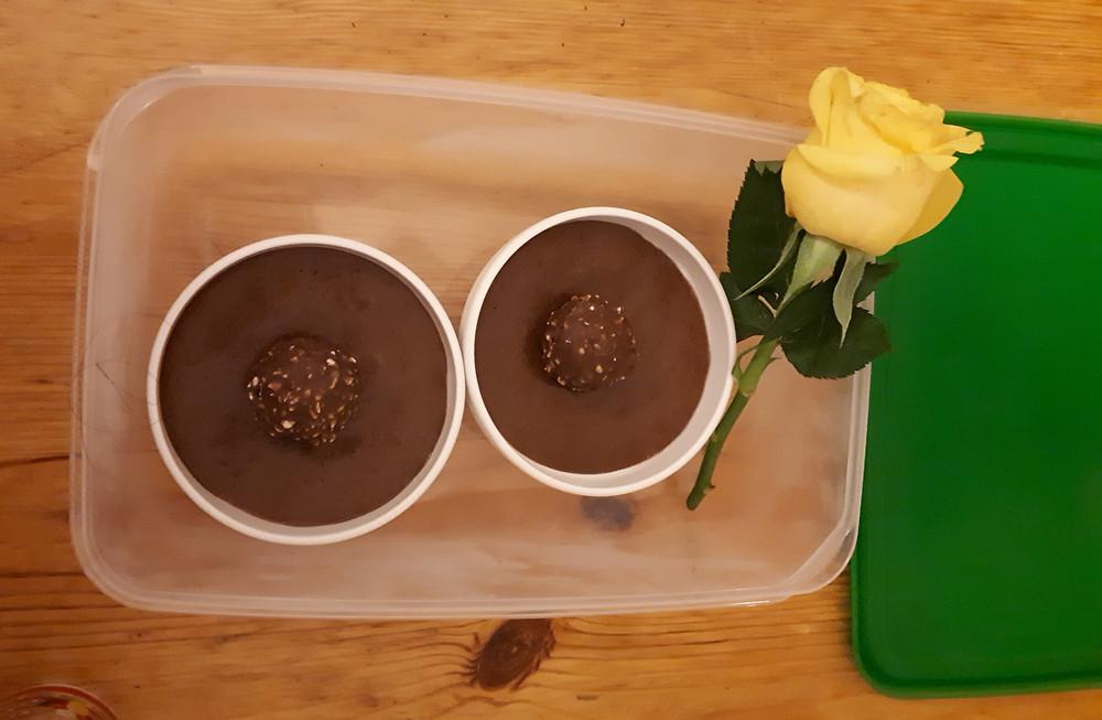 Mousse au chocolat - Gilles - Alfredlediabete - 10gr de glucides - diabète