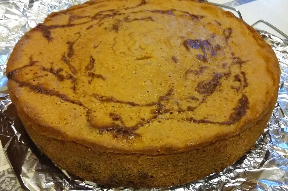 Gâteau marbré - 30gr la portion - Pâtisserie diabétique
