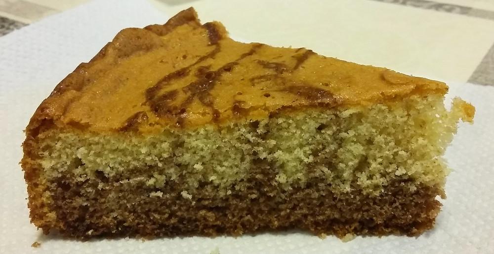 Gâteau marbré - 30gr la portion