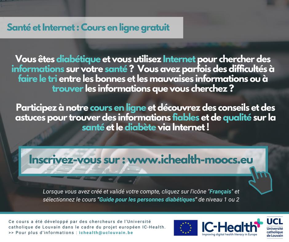 Projet européen IC-Health - Alfredlediabète