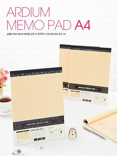 Ardium Memo Pad A4