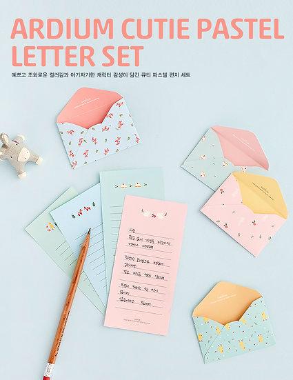 Ardium Cutie Pastel Letter Set