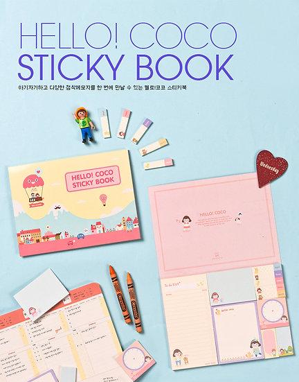 Hello! Coco Sticky Book