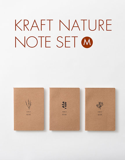 kraft nature note set M