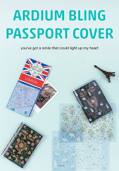 Bling Passport Cover