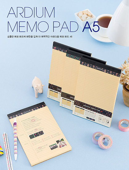 Ardium Memo Pad A5