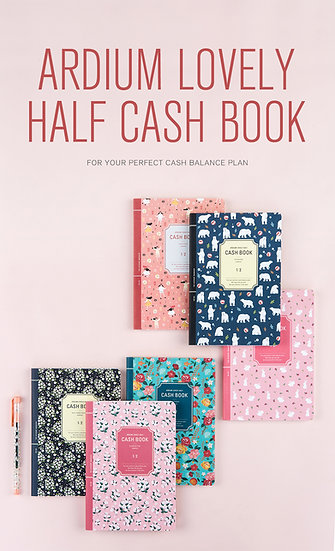 Ardium Lovely Half Cash book