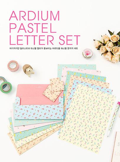 Ardium Pastel Letter Set