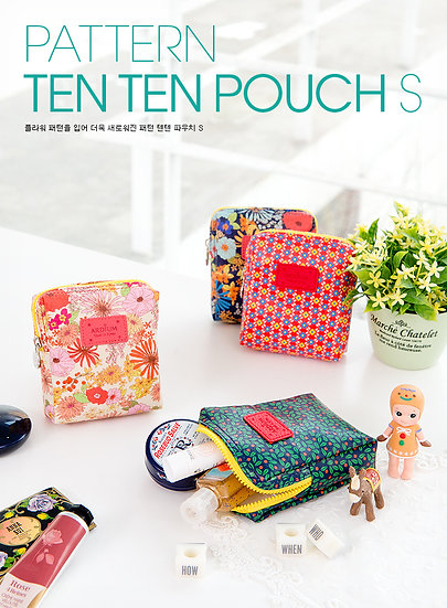 Pattern Ten Ten Pouch S
