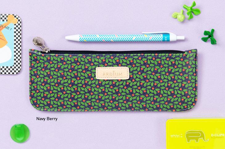 Pattern Slim Pencil Case