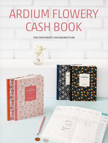 Ardium Flowery Cash Book