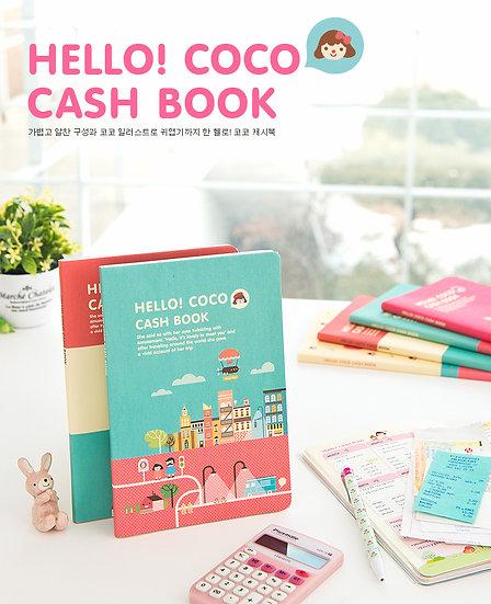Hello! Coco Cash Book