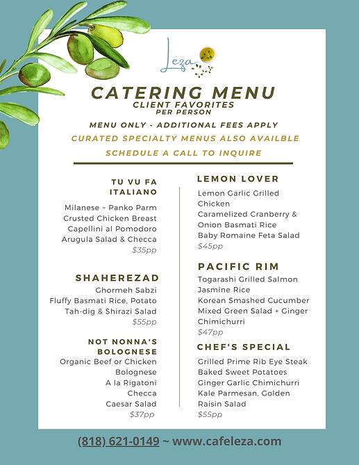 Best Los Angeles Mediterranean Catering Service