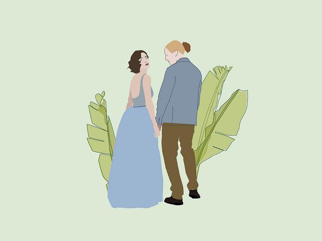 wedding - illustration