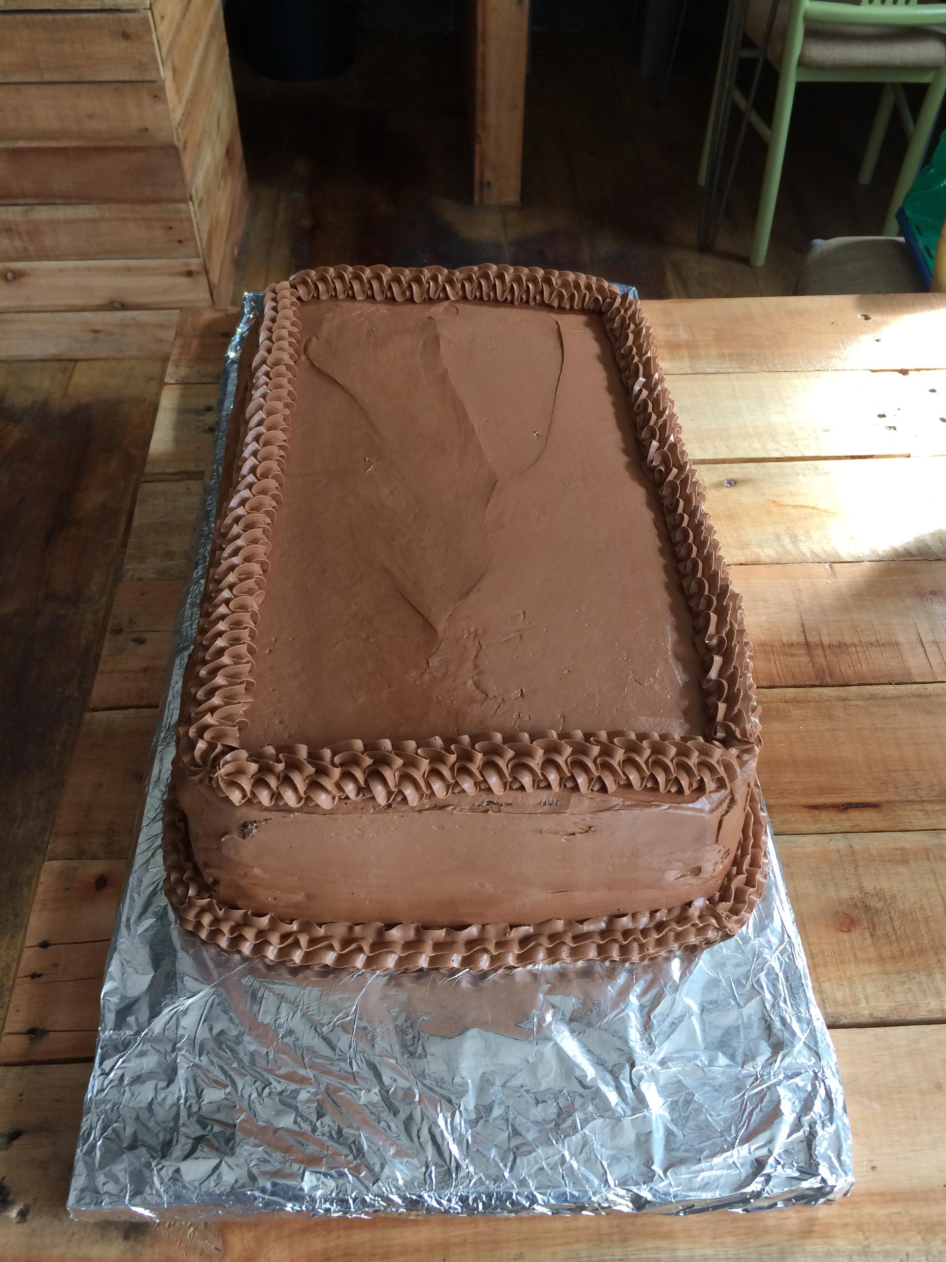 Massive Chocolate Cake
