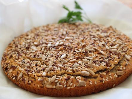 Домашна Оризова питка с ленено семе: bez-gluten.com
