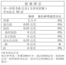 舒可纖α-營養標