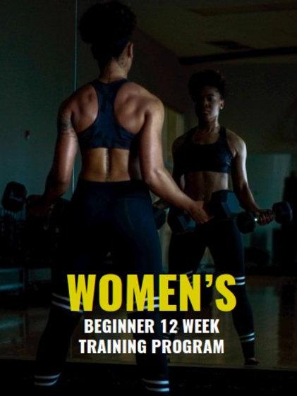 Womens 12 Week Training Program Updated