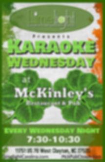 McKinleys Karaoke Wednesday.jpg
