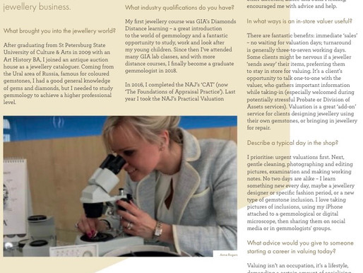 Our Business was Featured in the NAJ Year Book 2020!