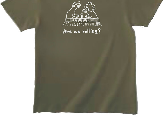 Are we rolling?  Tシャツ