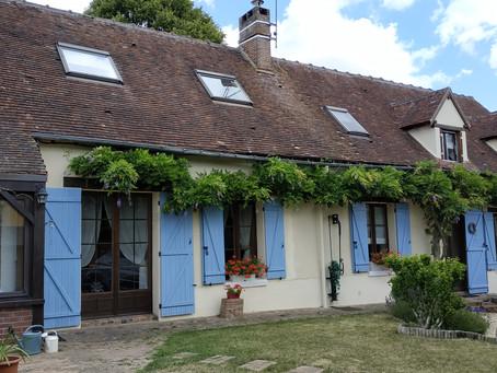 フランスの田舎の古民家