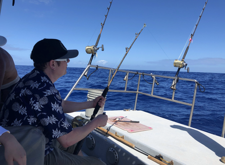 Going Fishing!  お釣りへ!