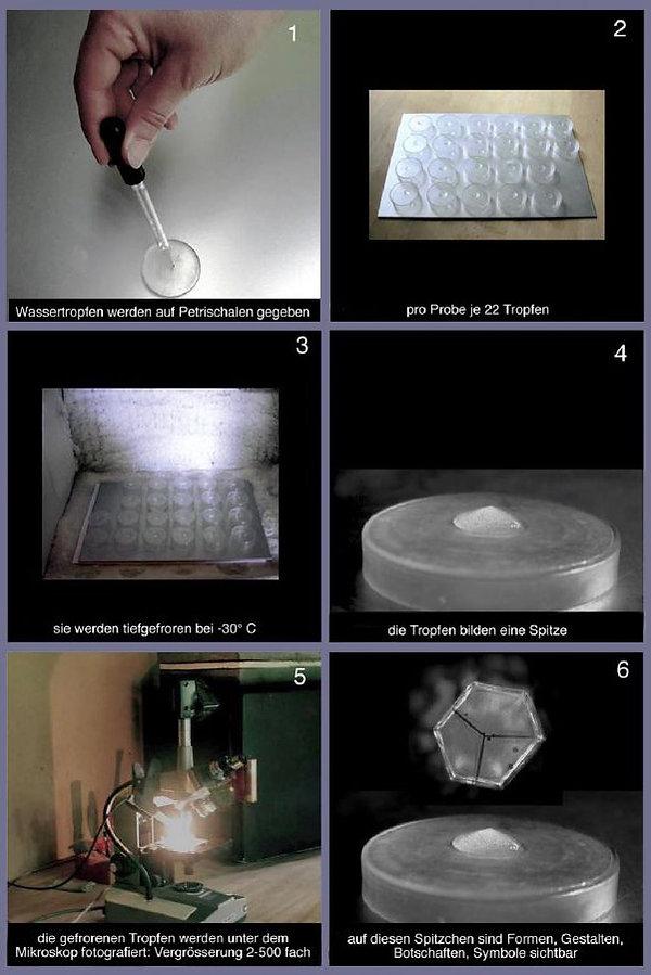 wasserkristall-fotografie - energetische Signatur