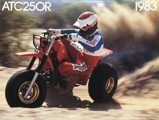 1983 ATC250R Full Set