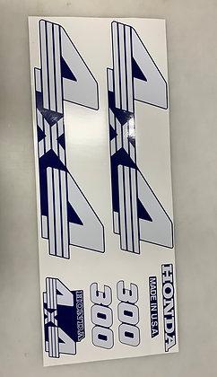 TRX300 Blue Set